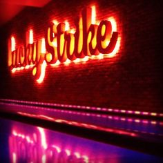 Lucky Strike Lanes at #LALive