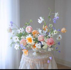 My Flower, Beautiful Flowers, Floral Wedding, Wedding Flowers, Bloom Baby, Flower Aesthetic, Floral Bouquets, Planting Flowers, Floral Arrangements