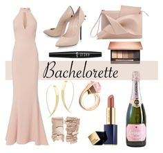 """""""Bachelorette #1"""" by trin9213 ❤ liked on Polyvore featuring Gucci, Casadei, Lana, Clarins, Estée Lauder, NYX and Exclusive for Intermix"""