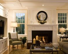 Traditional Living Rooms Fireplaces Design, Pictures, Remodel, Decor and Ideas - page 2