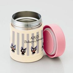 Jiji Stripes Keep Warm Lunch Jar Bento And Co, Bento Box Lunch, Kiki's Delivery Service, Keep Warm, Container, Stripes, Jar, Mugs, Tableware