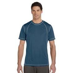 4101422c All Sport Men's #ShortSleeve Interlock #TeeShirt #menswear #activewear  #sportswear Sports Apparel. Calibre Apparel