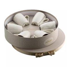 Aynsley China Silver brocade 6 mugs in hat box | Debenhams Ireland