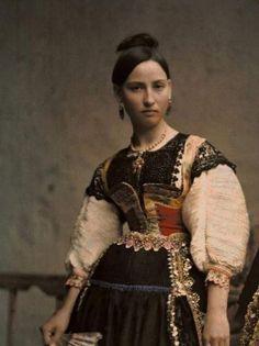 Spanish traditional costumes, Lagartera ( Toledo )