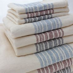Kontex Towels made in Imabari, Japan. Made with super soft and durable organic cotton.