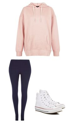 """""""Untitled #319"""" by austynh on Polyvore featuring Dorothy Perkins, New Look and Converse"""
