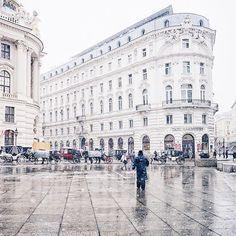 Vienna beautiful Michaelerplatz  Regram via @gregsideris