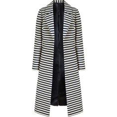 Buy Bruce by Bruce Oldfield Long Stripe Coat 3d658bb03