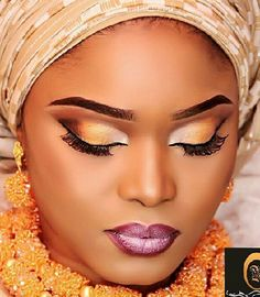 Welcome to Oghenemaga Otewu's Blog: Halima Abubakar stunning in new makeup photo