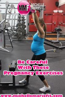 Must read for pregnant women. These are the pregnancy exercises you need to be careful with and some great tips to help you prevent excess weight gain during pregnancy