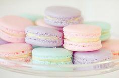 pastels macaroni