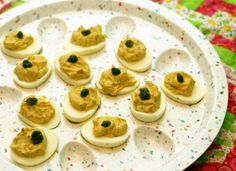 Anchovy Deviled Eggs