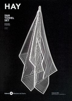 Galeria Mexicana de Diseño - Advertising by Tania Alvarez, via Behance