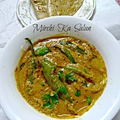 Hyderabadi Mirchi ka Salan/How to make Mirchi ka Salan   Pepper, Chilli and Vanilla