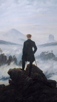 Caspar David Friedrich The Wanderer above the Sea of Fog print for sale. Shop for Caspar David Friedrich The Wanderer above the Sea of Fog painting and frame at discount price, ships in 24 hours. Cheap price prints end soon. Painting Prints, Canvas Prints, Art Prints, Canvas Art, Painting Art, Framed Canvas, Framed Art, Oil Paintings, Canvas Size