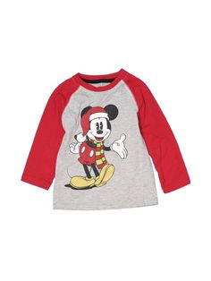 Disney Long Sleeve T Shirt Size: 3Toddler Tops - used. 60% Cotton, 40% Polyester   Disney Long Sleeve T-Shirt: Gray Tops - Size 3Toddler Disney Outfits, Disney Clothes, Winter Baby Boy, Disney Boys, Boys T Shirts, Grey Top, Retail, Graphic Sweatshirt, Gray
