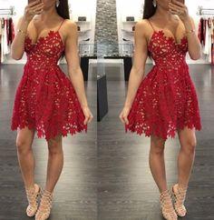 6a6c6de57b9f4f Ava Maria Lace Cut-Out Dress