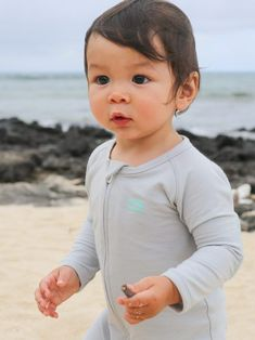 """When it comes to baby clothing, the options are endless, but…what does your baby actually need? We came across the Any Baby Smartsie Playsuit and thought it was genius! As they say, Any Baby is """"the world's smartest playsuit for squirmy, squishy, stinky little humans."""" Babies are indeed that, so read on to see why we highly recommend the Any Baby Smartsie Playsuit for all of the little ones in your life. Cute Baby Boy Outfits, Human Babies, Baby Boy Fashion, Slow Fashion, Playsuit, Little Ones, Cute Babies, New Baby Products, Things To Come"""