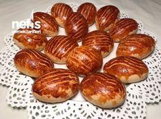 Pastane Poğaçası (şahane) #pastanepoğaçası #poğaçatarifleri #nefisyemektarifleri #yemektarifleri #tarifsunum #lezzetlitarifler #lezzet #sunum #sunumönemlidir #tarif #yemek #food #yummy Pretzel Bites, Baked Potato, Almond, Potatoes, Bread, Baking, Breakfast, Ethnic Recipes, Food