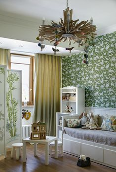 〚 Family townhouse with a calm classic interiors in Moscow 〛 ◾ Photos ◾Ideas◾ Design Provence Kitchen, Classic Interior, Beautiful Interiors, Vintage Toys, Kids Bedroom, Valance Curtains, Baby Room, Townhouse, Furniture