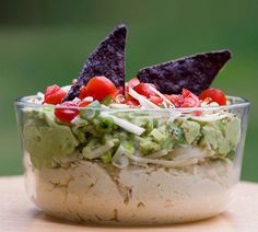 Guaca-Hummus! Guacamole AND Hummus -- what could be better?!?!