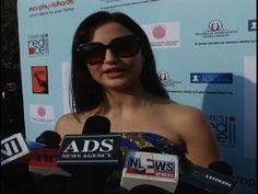 Elli Avram at Lavasa Women's Drive Compaign.