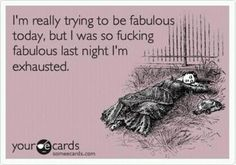 Ha Ha! Funny! LOL! // I'm really trying to be fabulous today, but I was...