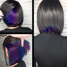 Hidden galaxy underlights by @reignsalonandspa  Get featured: #modernsalon