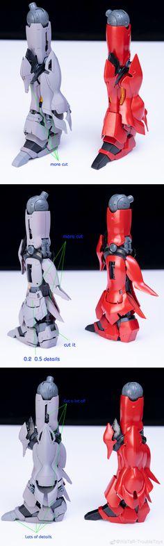 MG 1/100 MSN-06S シナンジュ ガレージキット catpula - INASK INFO (^^ゞ Gundam Custom Build, Omega, Deadpool, Resin, Romance, Statue, Superhero, Model, Movie Posters