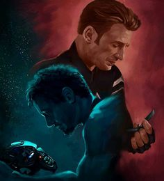 An endgame often refers to the final stage of a game like chess where players must make certain sacrifices in order to win. Art by Steve and Tony in Avengers: Endgame. Marvel Avengers, Marvel Dc Comics, Marvel Heroes, Chris Evans, Robert Evans, Die Rächer, Avengers Wallpaper, Marvel Movies, Avengers Movies