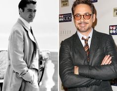 He just gets better with age.like a fine wine Stars Then And Now, Marvel Actors, Robert Downey Jr, Actors & Actresses, Suit Jacket, Handsome, Age, Fine Wine, My Love