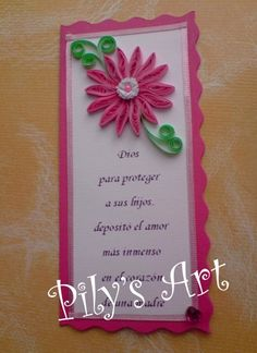 Tarjeta Día de la Madre - Mother's Day Card - by: Pily's Art- Chile