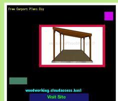 Free Carport Plans Diy 202012 - Woodworking Plans and Projects!