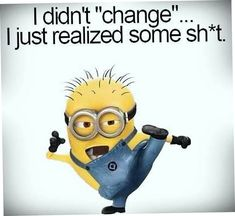 Hilarious Minions Quotes Life Quotes & Humor Moving on is a difficult decision one has to make a few times in life. You can try to hold on to people quotes Minion Humour, Funny Minion Memes, Minions Quotes, Funny Jokes, Funny Pictures Hilarious, Lame Jokes, Funniest Jokes, Funny Insults, Funny Guys