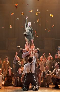 An inspiring still from Evita! Don't miss it in San Diego November 12-17, 2013