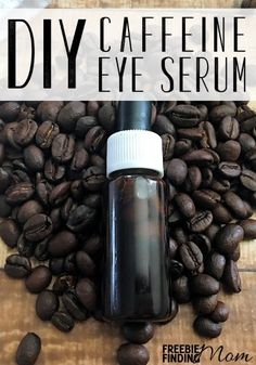 Homemade Eye Serum: DIY Caffeine Eye Serum - - Fight signs of aging, redness, and puffiness with this homemade eye serum. This homemade eye serum contains caffeine & avocado! Breakfast And Brunch, Beauty Care, Diy Beauty, Beauty Hacks, Beauty Guide, Beauty Skin, Homemade Skin Care, Homemade Beauty Products, Natural Beauty Tips