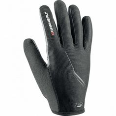 Louis Garneau Blast LF Full Finger Cycling Gloves with a Power Mesh upper hand and an AX SuedeTM palm with Biogel perforated padding and X-Vent ventilation to ensure comfort Bike Gloves, Cycling Gloves, Cold Weather, Outdoor Gear, Stylish, Leather, Finger, Products, Outdoor Tools