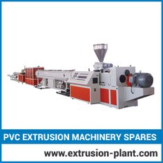 Pvc Extrusion Machinery Spares  We are instrumental with our manufacturing unit since two and half decades. To pump out excellent product range, it is built with best grade material. We are strong-minded to implement and offer latest, worldwide innovations with extrusion technology.