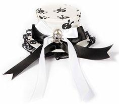 Hana Arashi Minihat Fascinator Black'n'White Skull Hana Arashi http://www.amazon.de/dp/B0054E7EB0/ref=cm_sw_r_pi_dp_Anq0vb0JWDNDX