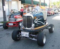 awesome use for old bumber cars:)