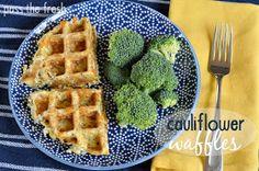 Pass the Fresh: Cauliflower Waffles