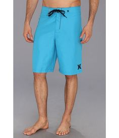 """NEW MEN'S HURLEY ONE & ONLY 22"""" CYAN BLUE BOARD SHORTS US SIZE 33 #Hurley #BOARDSHORT"""
