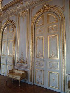 Paris, hôtel de Boisgelin ou de La Rochefoucauld-Doudeauville, salon de la Mappemonde, Jacques de La Guépière, c. 1715