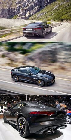 has launched its new car F Type R Coupe comes with liter supercharged petrol engine which generates 550 horsepower Jaguar All Models, Supercars, Jaguar Pictures, Automobile, Jaguar F Type, Super Sport Cars, Ford Classic Cars, Expensive Cars, Sexy Cars