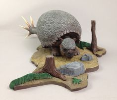 "prehistoric scenes model kits | This is an Aurora Prehistoric Scenes ""What-If""…"