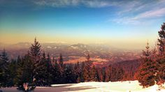 [OC] The Carinthia region of Slovenia as seen from Pohorje