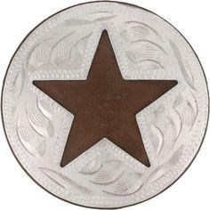 Nickel Cutout Star Concho Saddles, Symbols, Stars, Roping Saddles, Sterne, Star, Glyphs, Icons