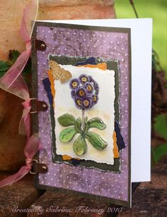 FTTC52B Popped-Up Primula by Cook22 - Cards and Paper Crafts at Splitcoaststampers