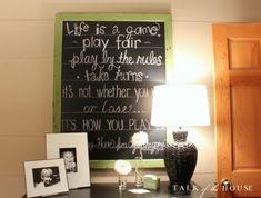 playroom chalkboard