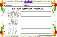 Aprendemos el vocabulario de carnaval